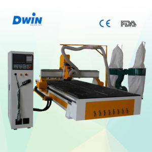 Tool Changer Automatic CNC Wood Cutting Machine pictures & photos