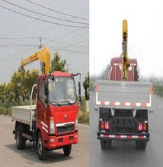 Truck Mounted Crane 4ton pictures & photos