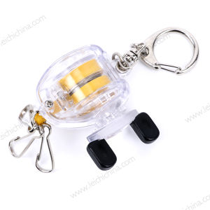 New Fishing Tool Bait Casting Reel Key Chain Zinger pictures & photos