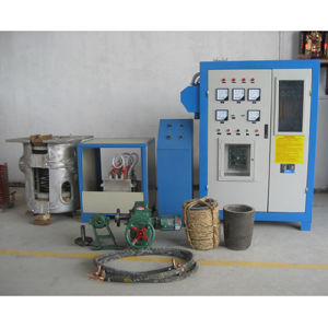 Kgps Aluminium Intermediate Frequency Induction Heating Melting Furnace 500kw pictures & photos