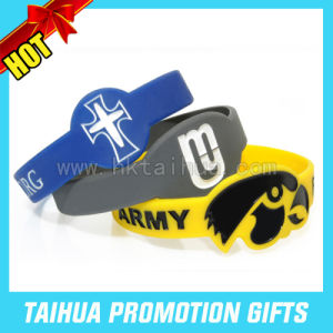 Promotion Debossed Silicone Bracelet Watch (TH-band038) pictures & photos