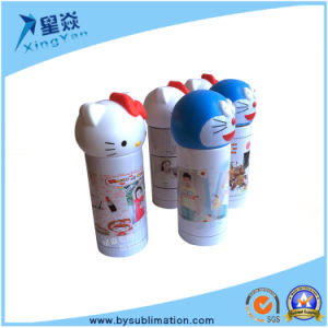 Lovely Sublimation Kt Cat Cartoon Vacuum Flask pictures & photos