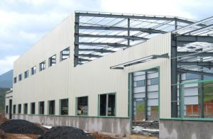 Steel Structure Construction Logistic Warehouse Building pictures & photos