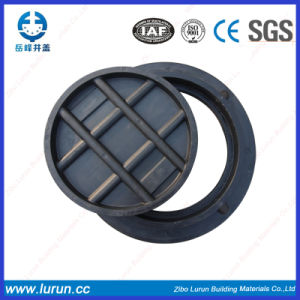 Black Color Composite D400 Round Manhole Covers with Frame pictures & photos