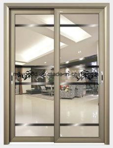 Glass Door, Wood Frame or Aluminium Frame pictures & photos