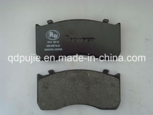 Truck Brake Pad Casting Backing Plate Wva 29115 for Mercedes-Benz (PJTBP019) pictures & photos