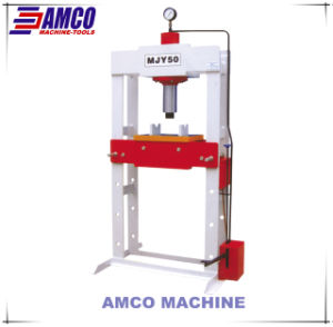 Portal Frame Foot Operated Hydraulic Press pictures & photos