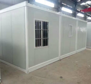 Prefab Modular Flat Pack Container Home with Folding Bed pictures & photos