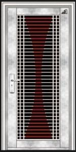Stainless Steel Door with Glazing Trim in SUS304 (ES-8011) pictures & photos