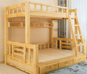 Solid Wooden Bed Room Bunk Beds Children Bunk Bed (M-X2212) pictures & photos