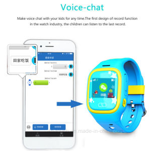 Touch Screen Kids GPS Watch with GPS+Lbs+WiFi Position (D13) pictures & photos