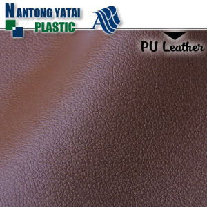 Embossed Faux PU PVC Leather for Auto Seat and Furnitures pictures & photos