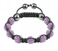 Fashion Shamballa Crystal Bracelet Sh12