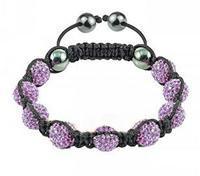 Fashion Shamballa Crystal Bracelet Sh12