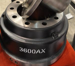 Hevay Duty 3600ax Brake Drum for Freightliner pictures & photos