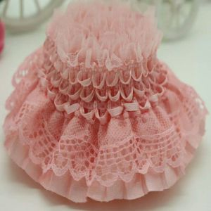 High Quality Elastic Ruffle Lace for Decorations pictures & photos