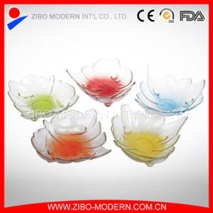 Special Shape Glass Plate for Wedding, Party, Decorative Dinner Plate pictures & photos