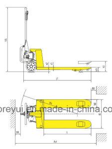Mechanical Assist 2.5t Pallet Truck pictures & photos