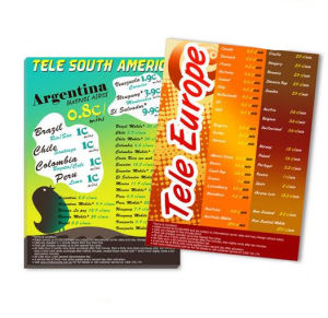 Oversea Cheaper Full Color Leaflets Printing (jhy-816) pictures & photos
