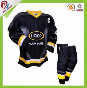 Dreamfox Sportswear 2017 New Latest Fashion Sublimated Colorful 5XL Hockey Jerseys pictures & photos