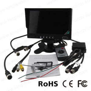 7 Inch Stand Alone TFT LCD Car Rear View Monitor pictures & photos