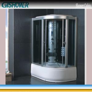 Corner Steam Bathtub Whirlpool Shower (KF831L) pictures & photos