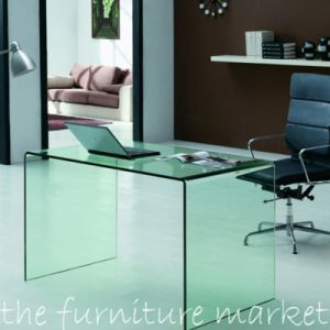Toughened Tempered Glass Dinner Table with En12150 pictures & photos