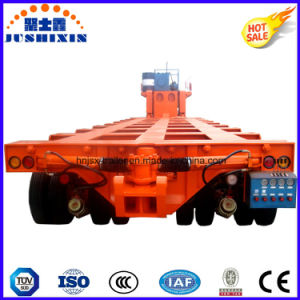 Multi Axle Lines Module Lowboy Trailer for Heavy Cargo Transportation pictures & photos
