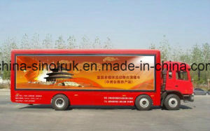 Professional Supply Outdoor Display Mobile LED Advertising Truck with Foldable Stage pictures & photos