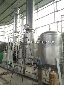 Diesel Engine Oil Recycling Plant with Vacuum Distillation Technology (EOS-10) pictures & photos