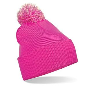 Cute Pink Beanie Hat Fitted Cute Winter Hats Knitted Headwear (XT-B036) pictures & photos