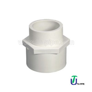 High Quality Water Supply UPVC Joints Male Adaptor (DIN) pictures & photos