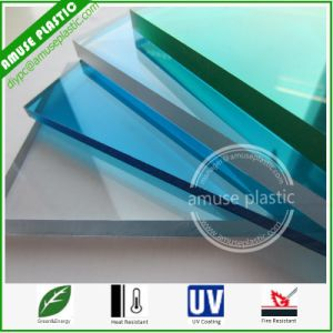Plastic Lexan Polycarbonate Glazing Panels PC Solid Lighting Roofing Sheets pictures & photos