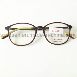 Hot Selling Flexible Double Color Optical Frame Spectacle Eyewear Frames pictures & photos