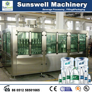 High Speed Plastic Bottle Automatic Purified Water Filling Machine/Line/System pictures & photos