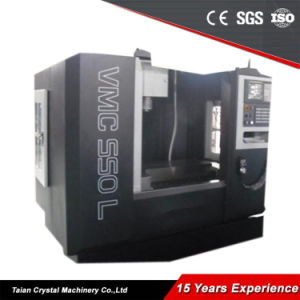 Large Metal Machining Cener Vertical Milling Machine (VMC550L) pictures & photos