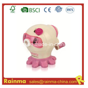 Animal Shaped Hand Crank Pencil Sharpener for Kids pictures & photos