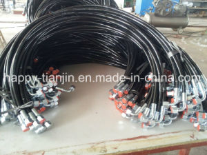 Wire or Fiber Reinforced Nylon Lined Polyurethane Covered High Pressure Hose pictures & photos