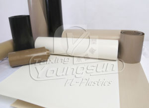 PTFE (Teflon) Insulated Fiberglass Cloth pictures & photos