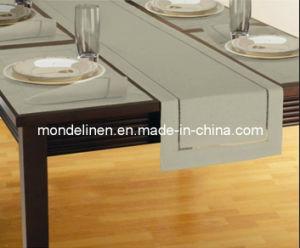 White Pure Linen Table Linens Set (TL-019)