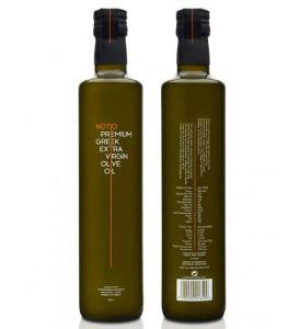 500ml Olive Oil Glass Bottle with Wooden Cap pictures & photos