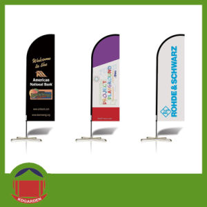 Solar Style Printed Beach Flag Banner pictures & photos