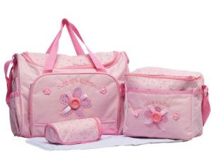 4PCS/Set Pink Stock Diaper Bag pictures & photos