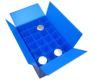 PP Corrugated Plastic Box with Divider