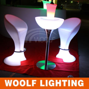 Outdoor LED High Top Half Dome Bar Cocktail Tables pictures & photos