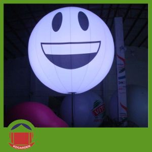 Cheap Price Promotion PVC Inflatable Ball with Smile Face pictures & photos