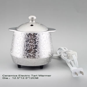 15CE23908 Silver Plated Electric Tart Burner