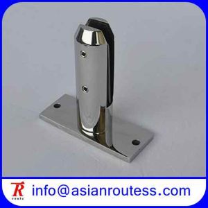 Base Plate Frameless Glass Pool Fencing Spigot
