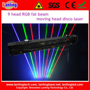 RGB DJ Disco Laser Fat Beam Moving-Head Satge Light pictures & photos