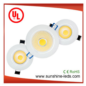 Multi Color Surface Mounted/Recessed COB LED Ceiling/Downlight pictures & photos